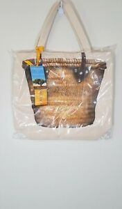 L-039-occitane-THURSDAY-FRIDAY-CANVAS-TOTE-TRAVEL-BAG-NEW