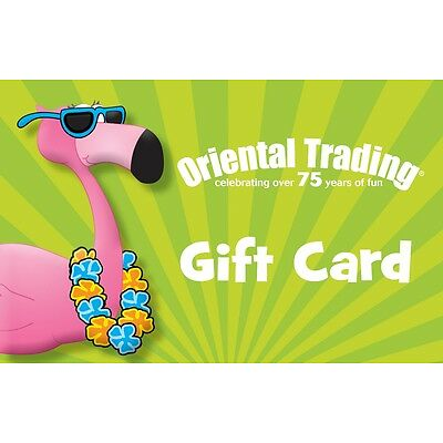 $25 Oriental Trading Gift Card - Mail Delivery