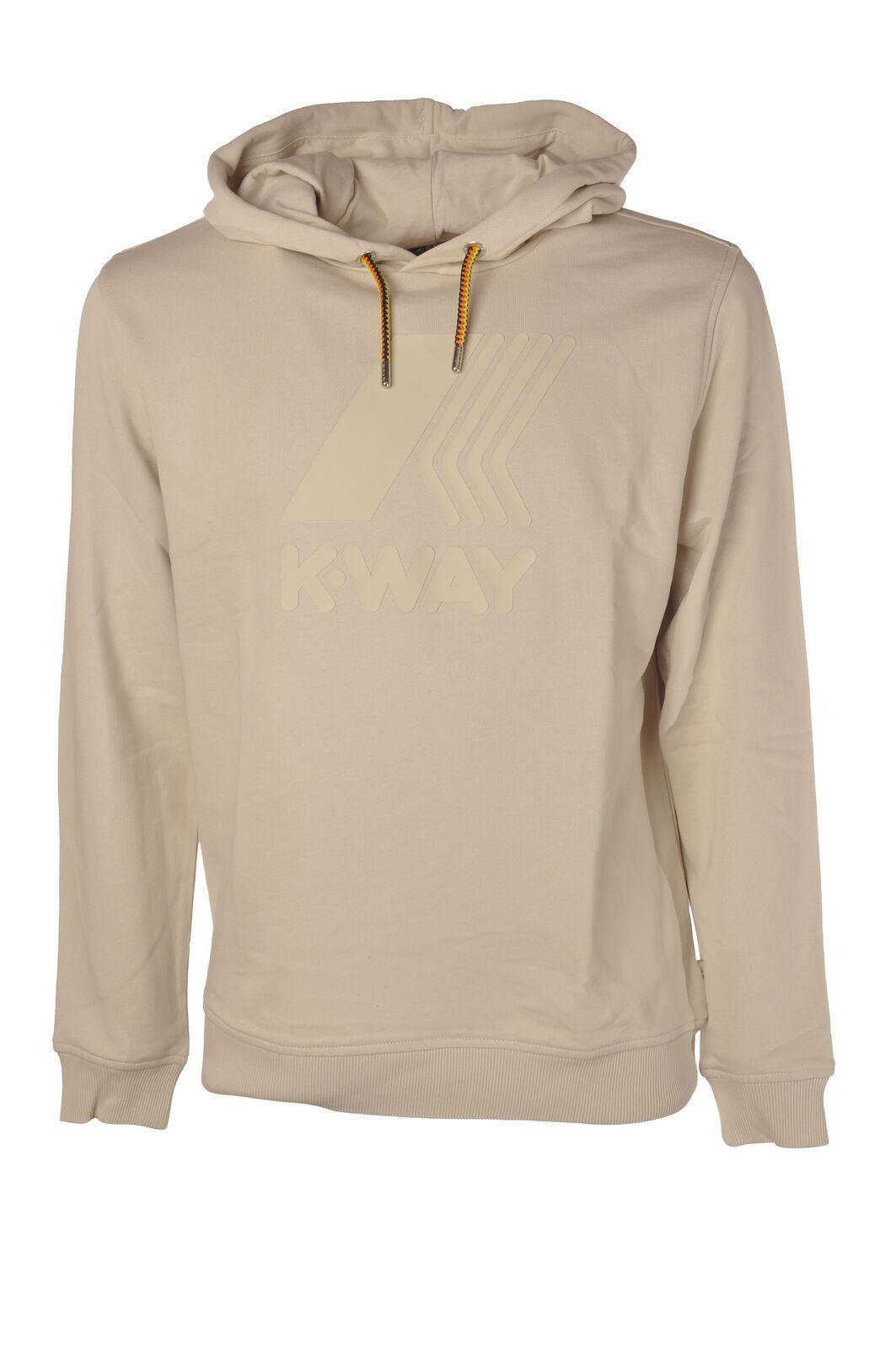 K-Way - Topwear-schweißhemds - Man - Beige - 5988324F191245