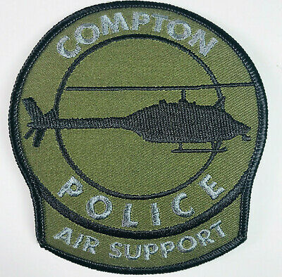 COMPTON CALIFORNIA POLICE PATCH