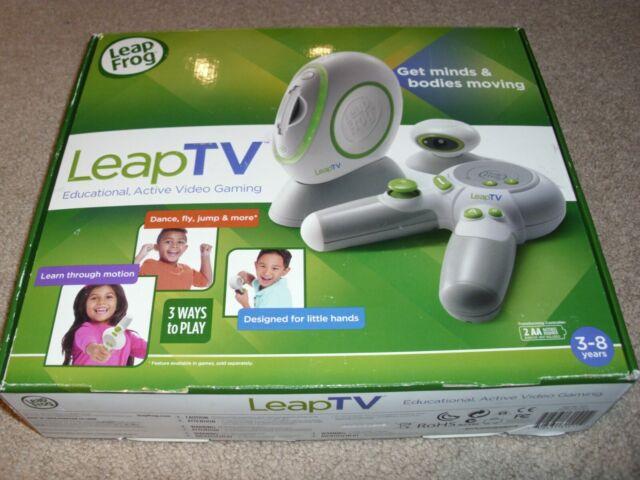 LeapFrog LeapTV Educational Video Gaming System for sale ...