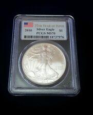 2010 Silver Eagle MS 70