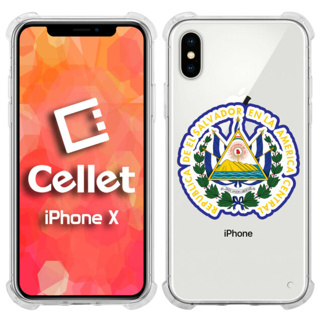 7d860ae093 El Salvador County Flag on Its Map for iPhone X Case for sale online ...