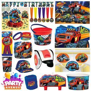 Blaze-Party-Vaisselle-Decorations-Ballons-Faveurs
