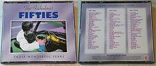 THE FABULOUS FIFTIES Those Wonderful Years / 50 O-Hits .. Time Life 3-CD-Box