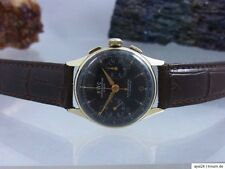 BWC CHRONOGRAPH SUISSE 585 / 14 GOLD ANTIMAGNETIC LANDERON cal. 51