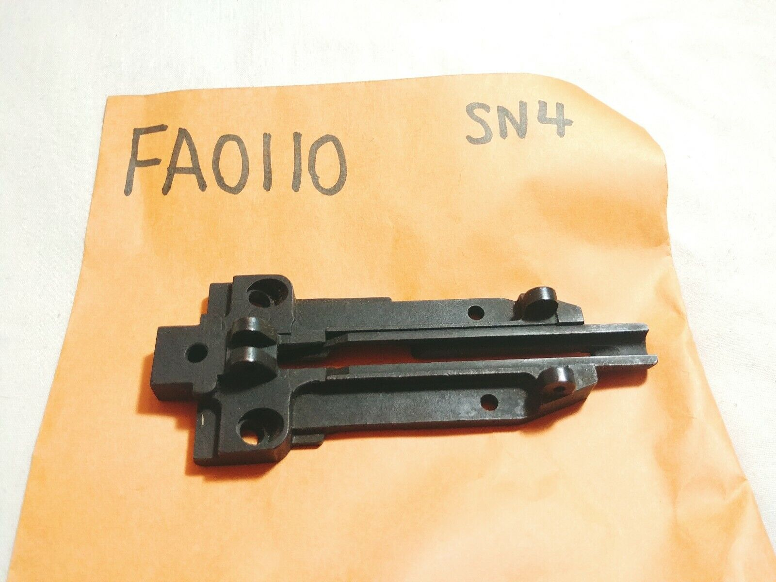 Genuine OEM Senco Nail Gun Parts Part Number FA0110 Receiver Body Plate for SN4