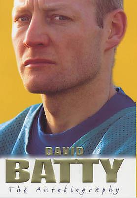 """AS NEW"" David Batty: The Autobiography, Batty, David, Book"