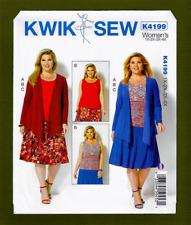 2c4235181a6 Kwik Sew 3191 Sewing Pattern Jackets   Skirts Women s 1x-4x Uncut