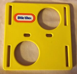 Little tikes dollhouse size play cube jungle gym yellow for Little tikes spare parts