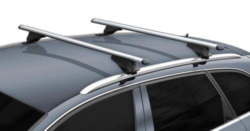 Alu Dachträger Tiger silber Relingträger Volvo XC60 ab 08 aufliegende Dachreling