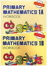 Primary Mathematics Workbook Bundle 1A+1B (US Edition) - FREE SHIPPING ! ! !