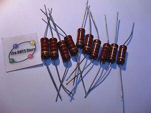 Resistor-2W-120-Ohm-120R-5-Carbon-Film-NOS-Qty-10