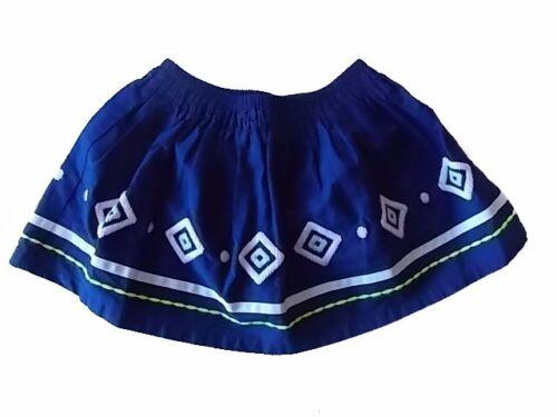 NWT Girl/'s Gymboree Blue Safari blue elastic waist skirt ~ 4 FREE SHIPPING!
