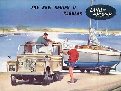 LAND ROVER 1957-1958 SERIES-I /'88/' RETRO POSTER BROCHURE CLASSIC ADVERT A3!!