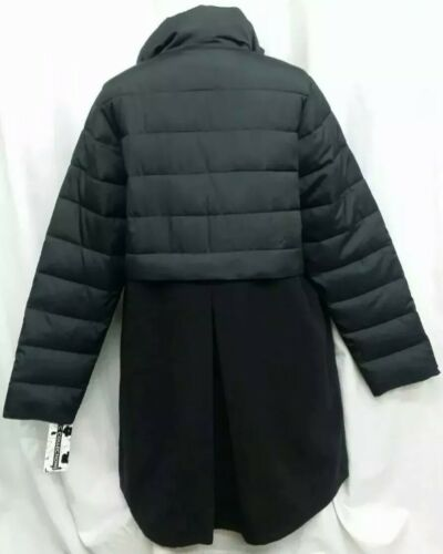 Lommer Langærmet Kc Lined Full Zip Coat Sort Collections Button 3x zq7zw8S