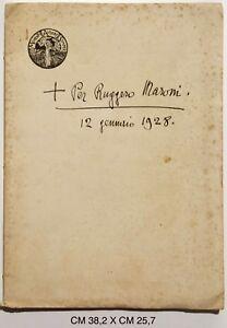 d-039-Annunzio-Per-Ruggero-Maroni-12-gennaio-1928-fac-simile-del-manoscritto