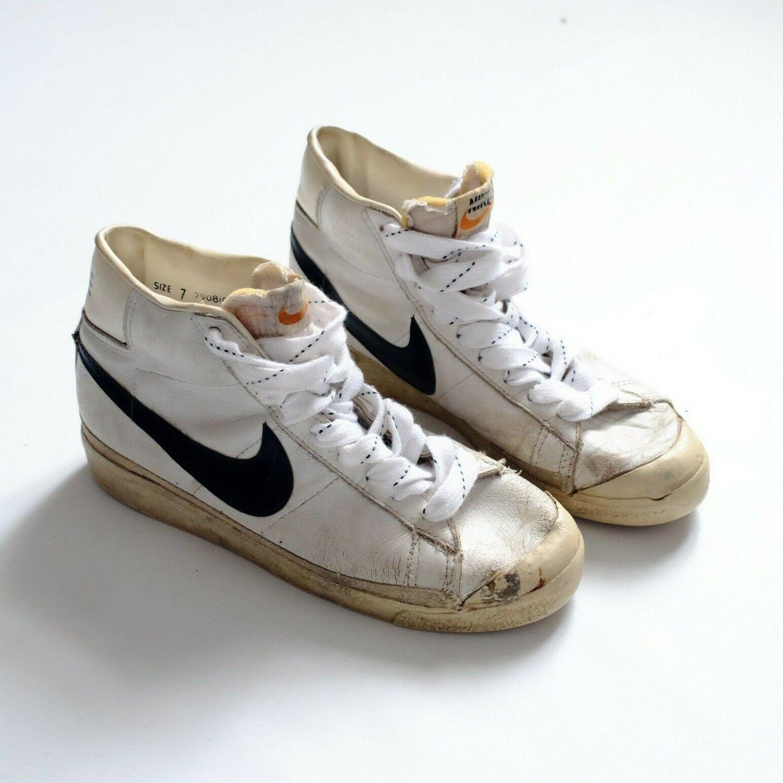 Vintage 1979 Nike Blazer basketball shoes sz 7 made in korea 70s sneakers rare
