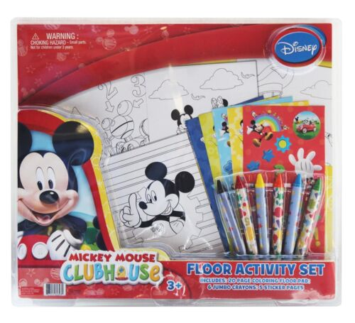 Doc McStuffins or Sofia Disney Floor Activity Set Your choice Mickey Mouse