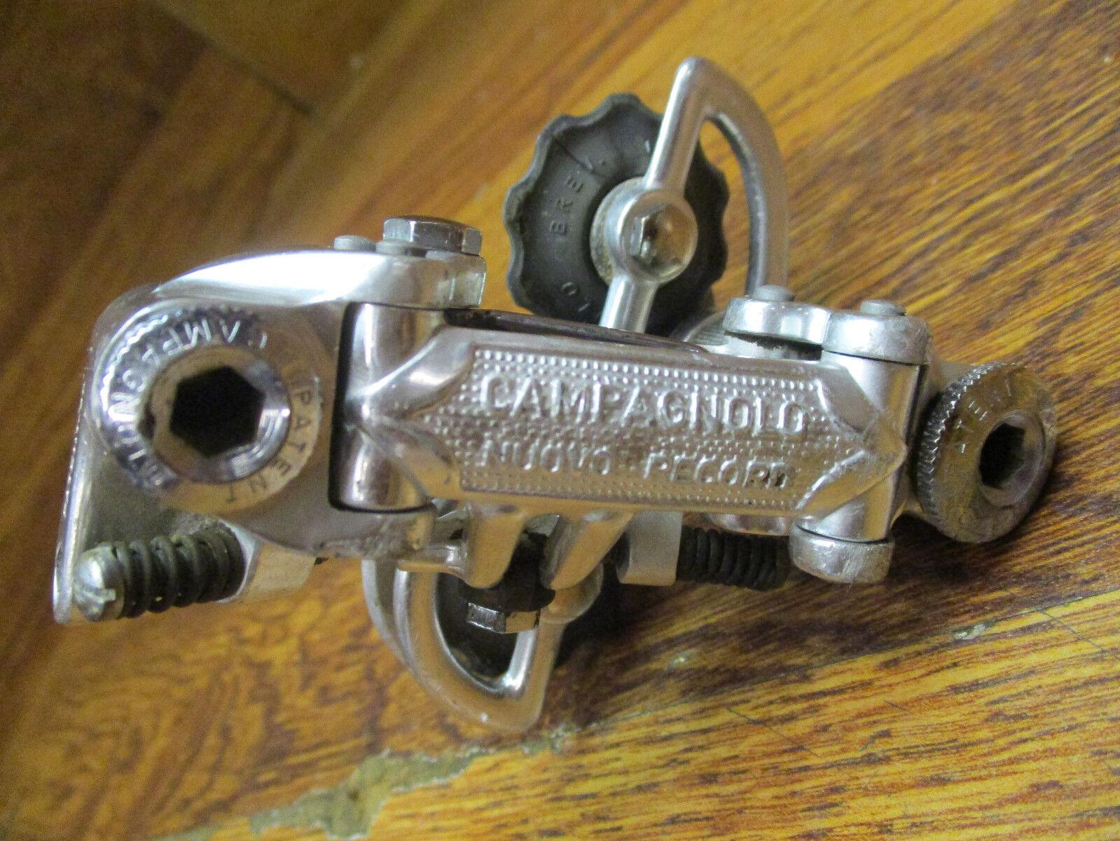 VINTAGE CAMPAGNOLO NUOVO  RECORD REAR DERAILLPAT. 70  fair prices