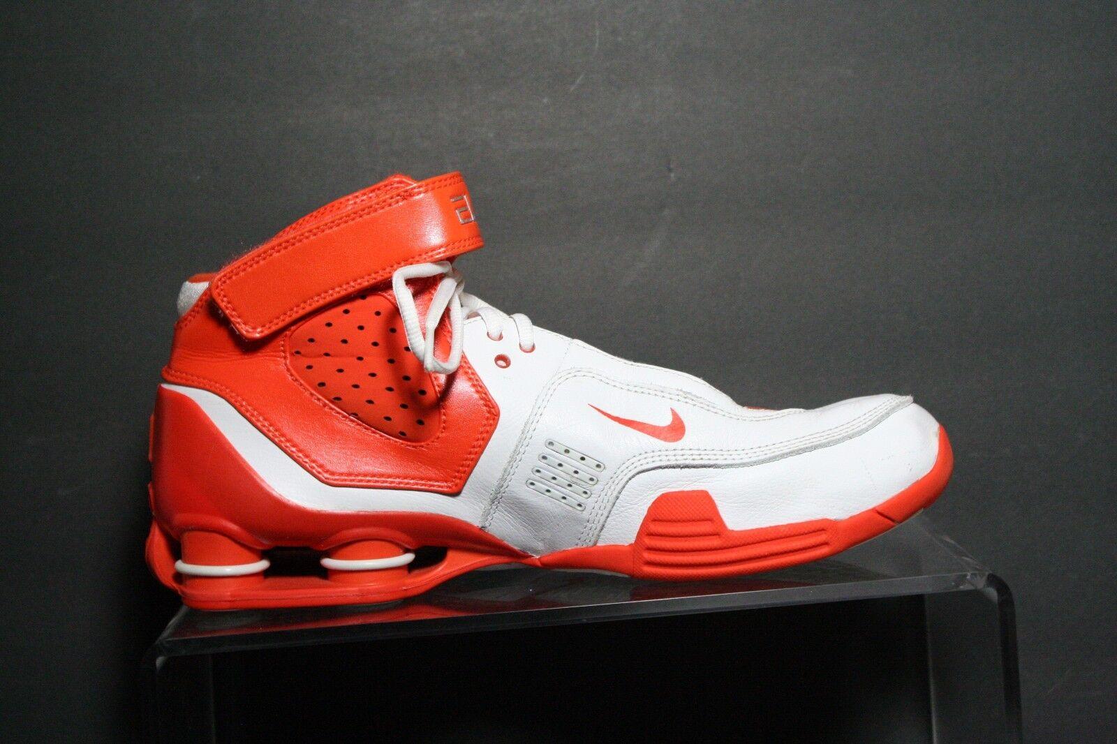 8b22a98250c7 ... Nike Shox Elite TB Basketball Sneaker  06 Multi Multi Multi White  Orange Tennessee Men 9 ...