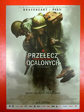 Andrew Garfield - Hacksaw Ridge - Polish promo FLYER