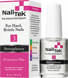 Image Is Loading Nail Tek Protection Plus 3 For Hard Brittle