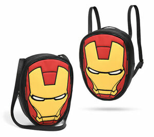 Marvel Iron Man Convertible Backpack Shoulder Tote Bag Avengers for ... 8e0762ffe0ff6