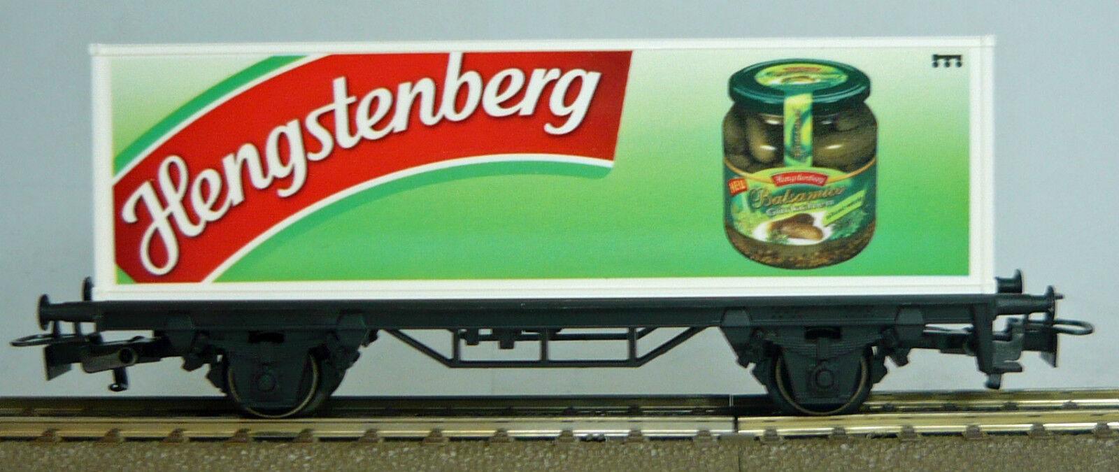 Märklin 4482.103, Güterwagen 'Hengstenberg', H0,  NEU & in OVP