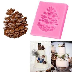 1pc-Weihnachten-Tannenzapfen-Silikonformen-DIY-Candy-Chocolate-Ice-Cube