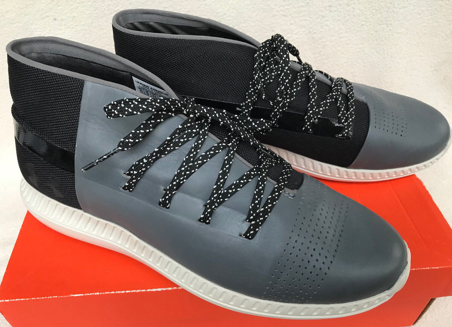 Under Armour Mid UA Veloce Mid Armour 1296613-040 Lifestyle Chill Chukka Shoes Men's 10.5 0662b8