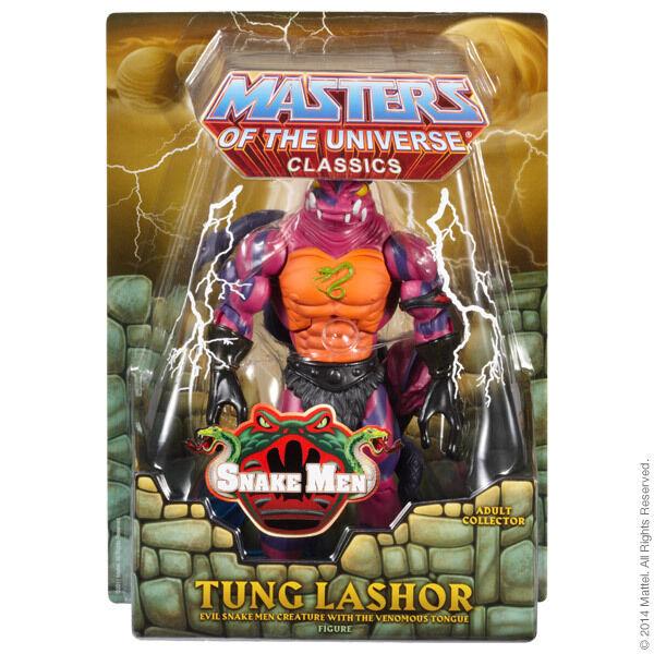 MOTUC Tung Lashor Masters of the Universe Classics 2014 He-Man Club Eternia
