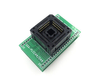 PLCC44 PLCC 44 TO DIP 44 Adapter SA244 Pin1>Pin1