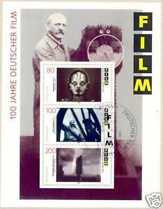BRD-1995-Film-Block-Nr-33-mit-sauberem-Bonner-Ersttagssonderstempel-1512