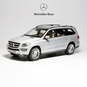 Original-1-18-Scale-Mercedes-Benz-GLS-500-GL-Class-Diecast-Car-Model-Silver