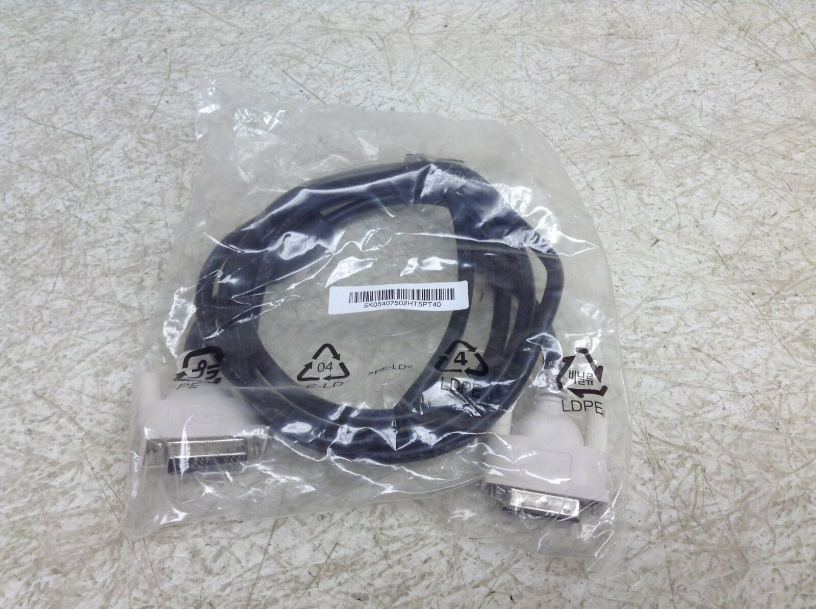 HOTRON DVI-D SINGLE LINK CABLE E246588 AWM STYLE 20276 30V VW-1 #G6