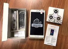 New Inbox Samsung Galaxy Note 4 SM-N910V Global 32GB White Verizon GSM Unlocked