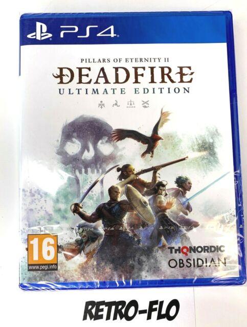 Pillars Of Eternity Ii : Deadfire Ultimate Edition - Jeu Playstation PS4 - NEUF