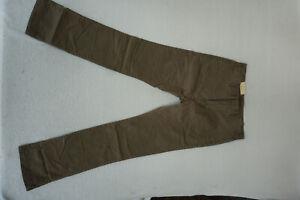 SELECTED-Homme-Kelp-Herren-Jeans-chino-slim-Stretch-Hose-W33-L34-khaki-NEU-AP8