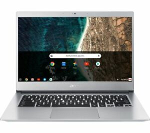 "ACER 514 14"" Chromebook - Intel® Celeron®, 32 GB eMMC, Silver - Currys"