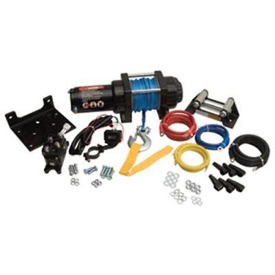 2500lb Mad Dog Synthetic Winch//Mount Kit for 2003-2014 Yamaha Kodiak 450 4x4