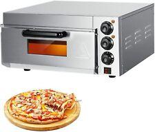 Electric Pizza Oven 14 Single Layer Pizza Oven Deck Multipurpose Snack Oven