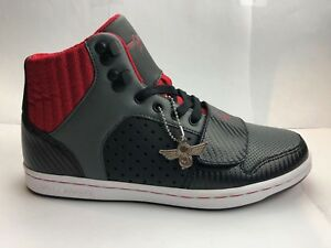 Creative Recreation cesario black smoke red CR442 BSMKR SIZE 8