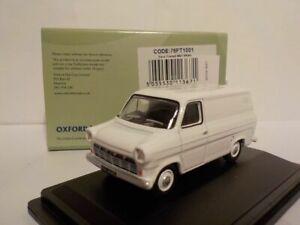 Model-Car-Ford-Transit-Van-MK1-White-1-76-New