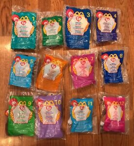 297311dae5b 1999 Ty Teenie Beanie Babies McDonald s Happy Meal Toys Unopened ...