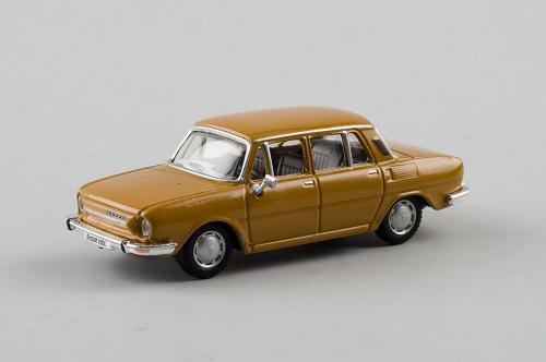 Skoda 110l 110 L Gelb Yellow Orange 171abd701ge 1//72 Abrex Modellauto Modell Aut