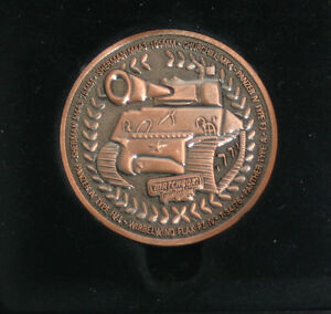 Matchbox Year 2000 Collectibles Medaille Shermann Auszeichnung Panzer Panther