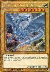 YuGiOh Card - BLUE-EYES WHITE DRAGON MVP1-ENGV4 SECRET | eBay