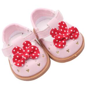 Vetement-de-Poupee-Chaussures-Animes-en-Cuir-PU-Decoration-pour-Poupees