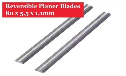 """3-1//4/"""" HSS planer blades for MAKITA BOSCH B/&D 82x5.5x1.1mm Set of 10"""